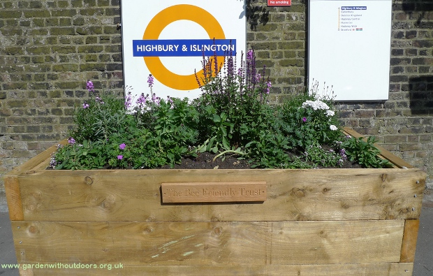 bee friendly trust planter highbury and islington