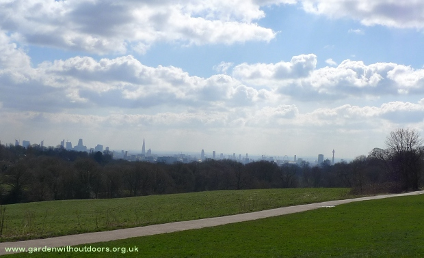 view from Hampstead Heath